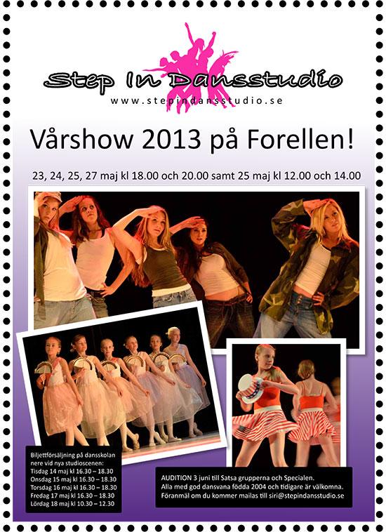 Vårshow 2013 på Forellen